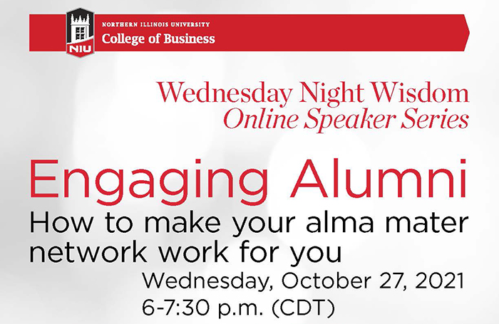 Wednesday Night Wisdom How to make your alma mater network work for you